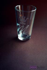 matowienie szkła w domu