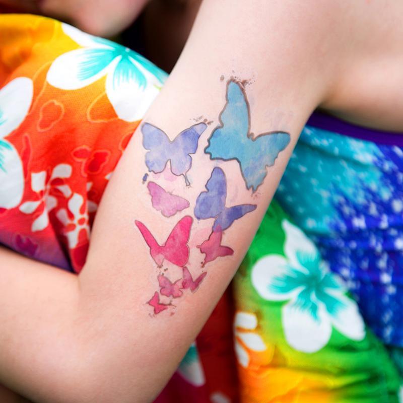 folia do własnych tatuaży - ploter silhouette