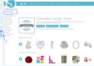 silhouette design store zakup wzorow