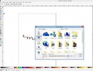inkscape zapis dxf