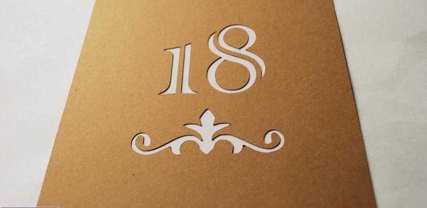 Zaproszenie Na 18 Te Urodziny Wycinarniapl Plotery Silhouette