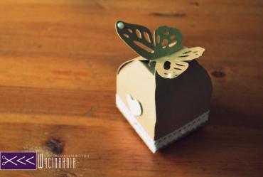 eko pudełko z motylem