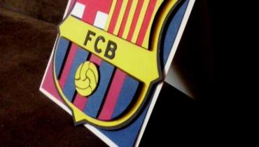 Kartka dla fana FC Barcelona