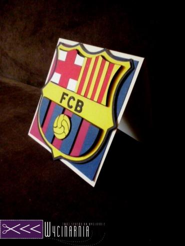 Kartka urodzinowa fc barcelona, kartka dla fana fc barcelona