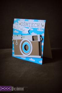 Kartka z aparatem - dla fotografa