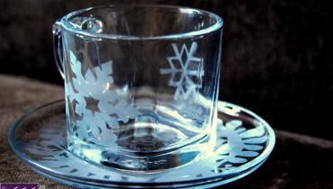 Matowienie szkła – film