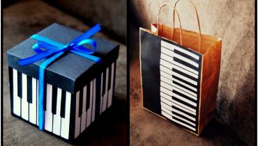Muzyczny zestaw urodzinowy