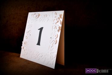 numery stolików wesele recznie robione handmade