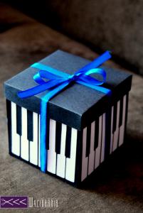 prezent dla muzyka handmade