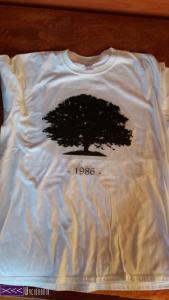 recznie robione koszulki - własny napis