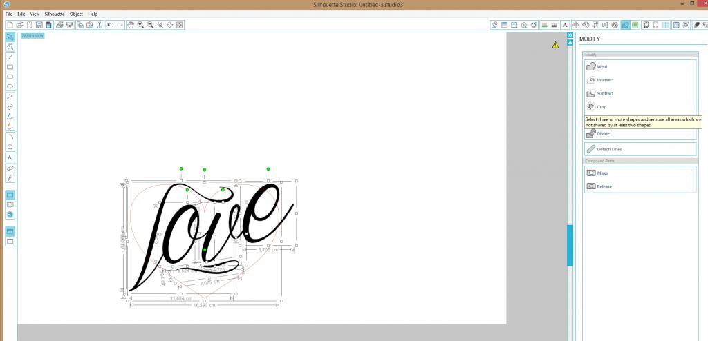 Jak zrobić napis w kształcie?