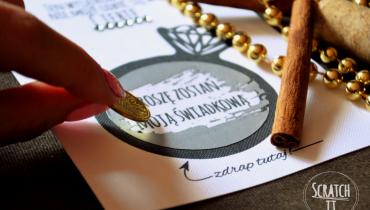 Zdrapki – czyli pomysł na niezwykłe kartki