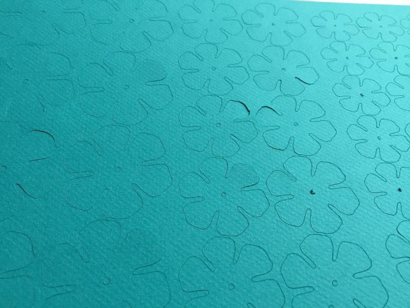 papierowe kwiaty tutorial