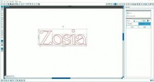 tworzenie napisów silhouette cameo 2