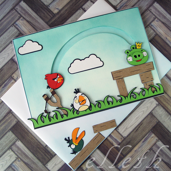 Mata Pixscan i ruchoma kartka Angry Birds