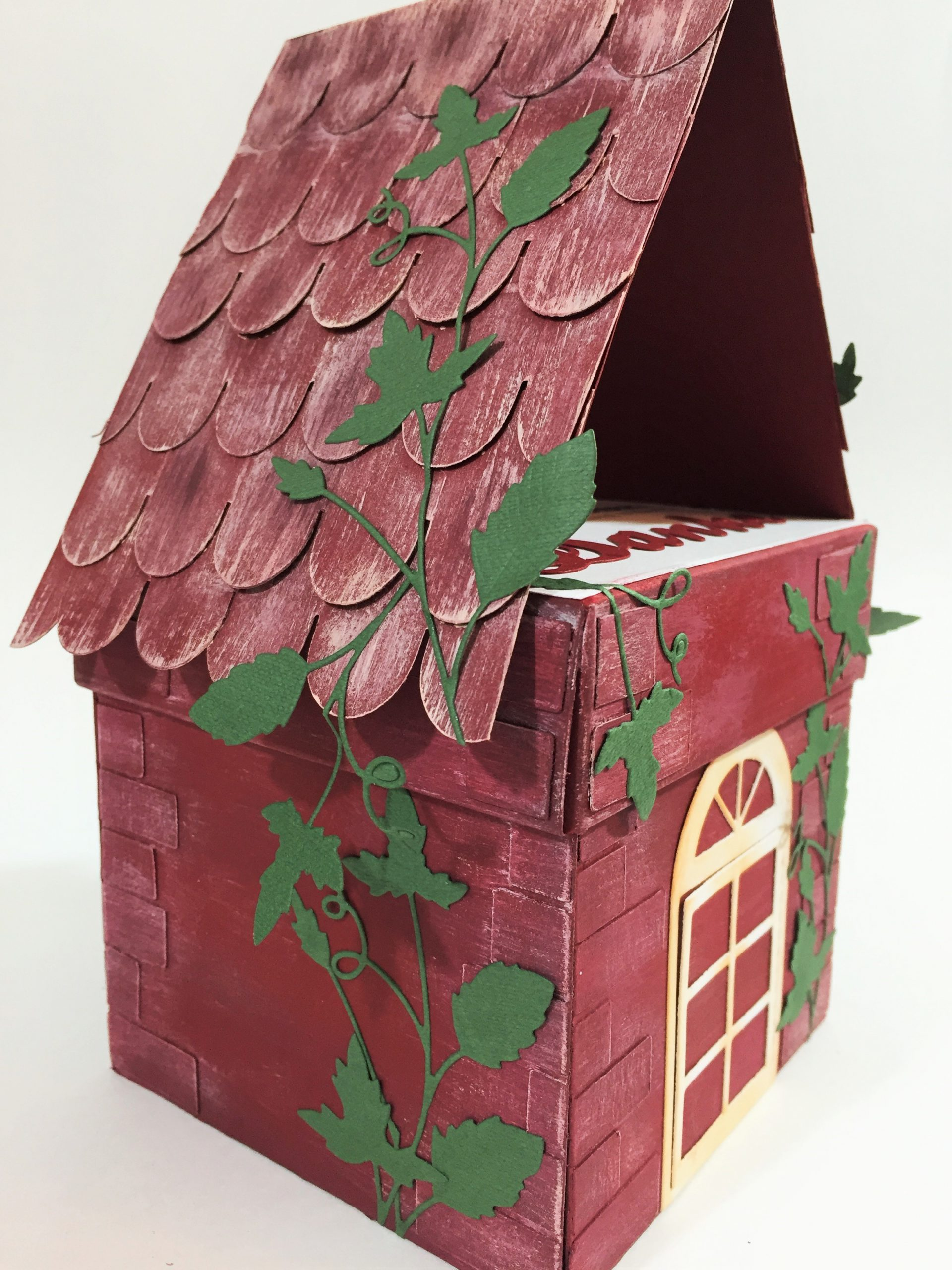 pudełko domek