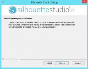 instalacja oprogramowania silhouette studio