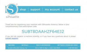 Ploter silhouette rejestracja produktu