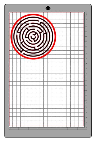 Kartka 3d diy silhouette ploter