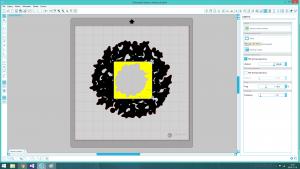 kartka swiateczna ploter silhouette