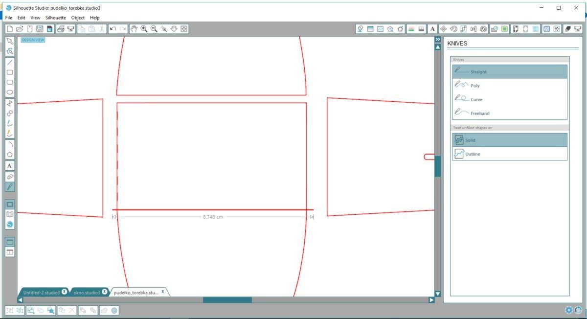 jak zrobić pudełko z papieru krok po kroku