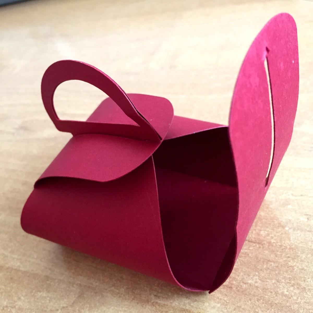 jak zrobić pudełeczko z papieru