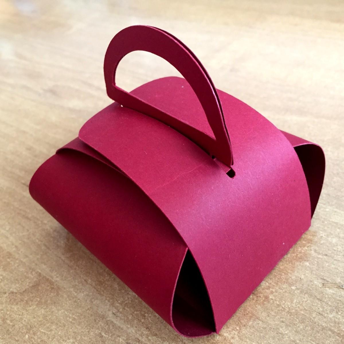 pudełko z papieru szablon