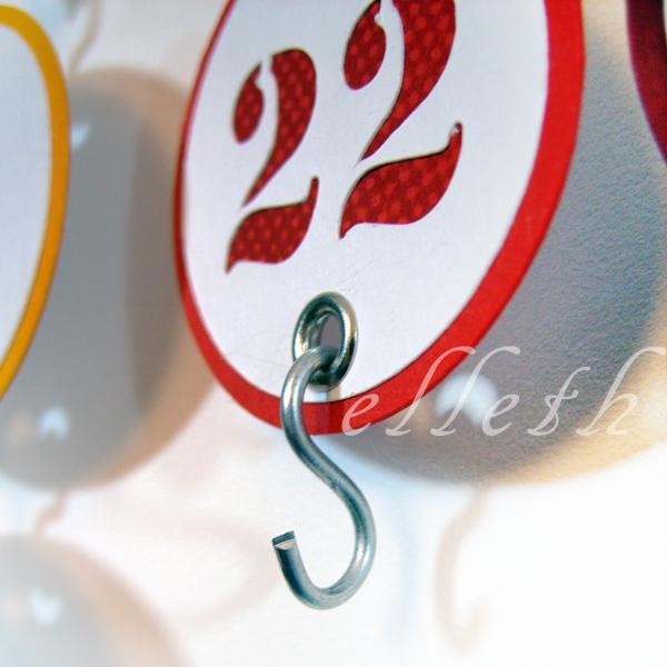Kalendarz urodzinowy diy - silhouette