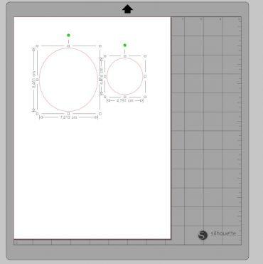zmiana wymiarów kształtu silhouette studio