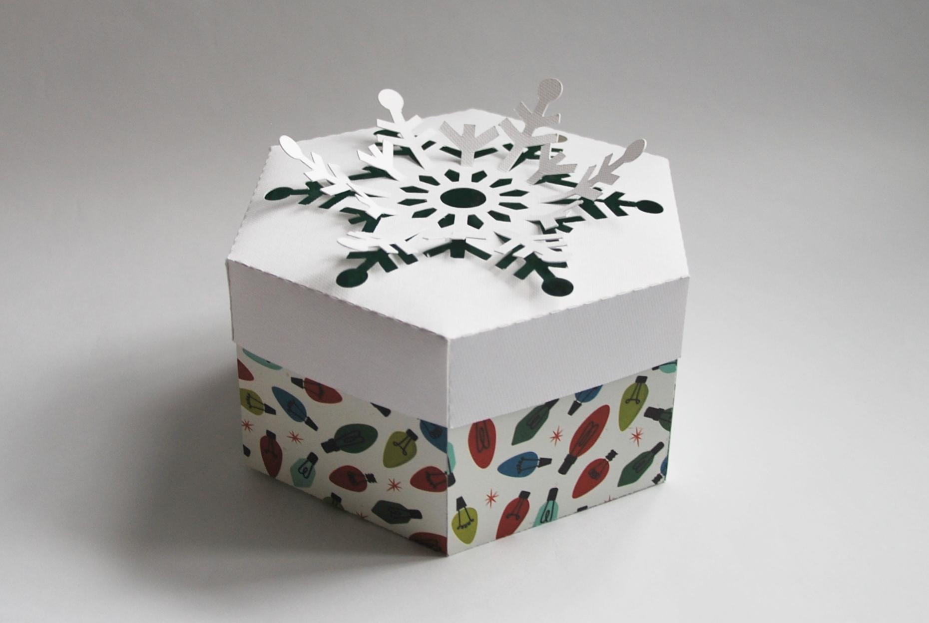 DIY pudełko na święta