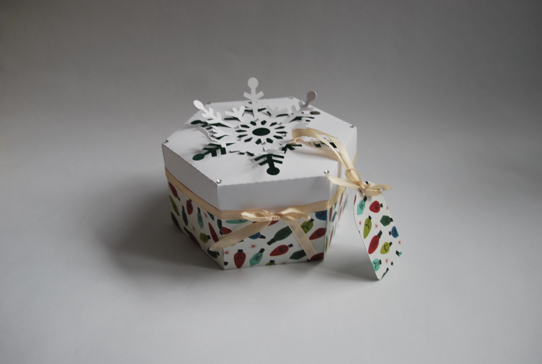 Ręcznie robione pudełka na święta