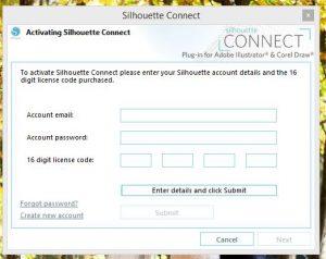 1 SIlhouette Connect - cięcie corel illustrator