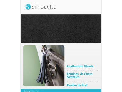 materiał, eko skóra, ploter silhouette