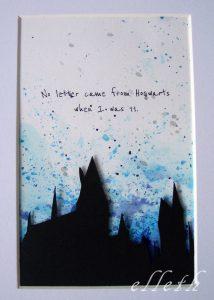 kartka hobbit władca pierścieni