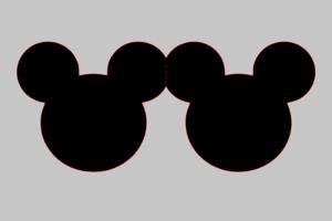 kartka myszka mini disney urodziny