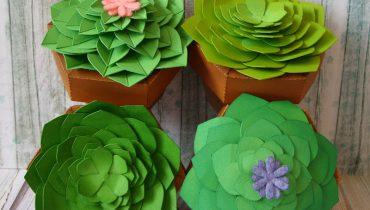 Papierowe roślinki