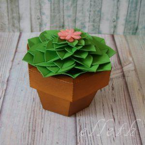 papierowe rośliny - ploter sihouette cameo