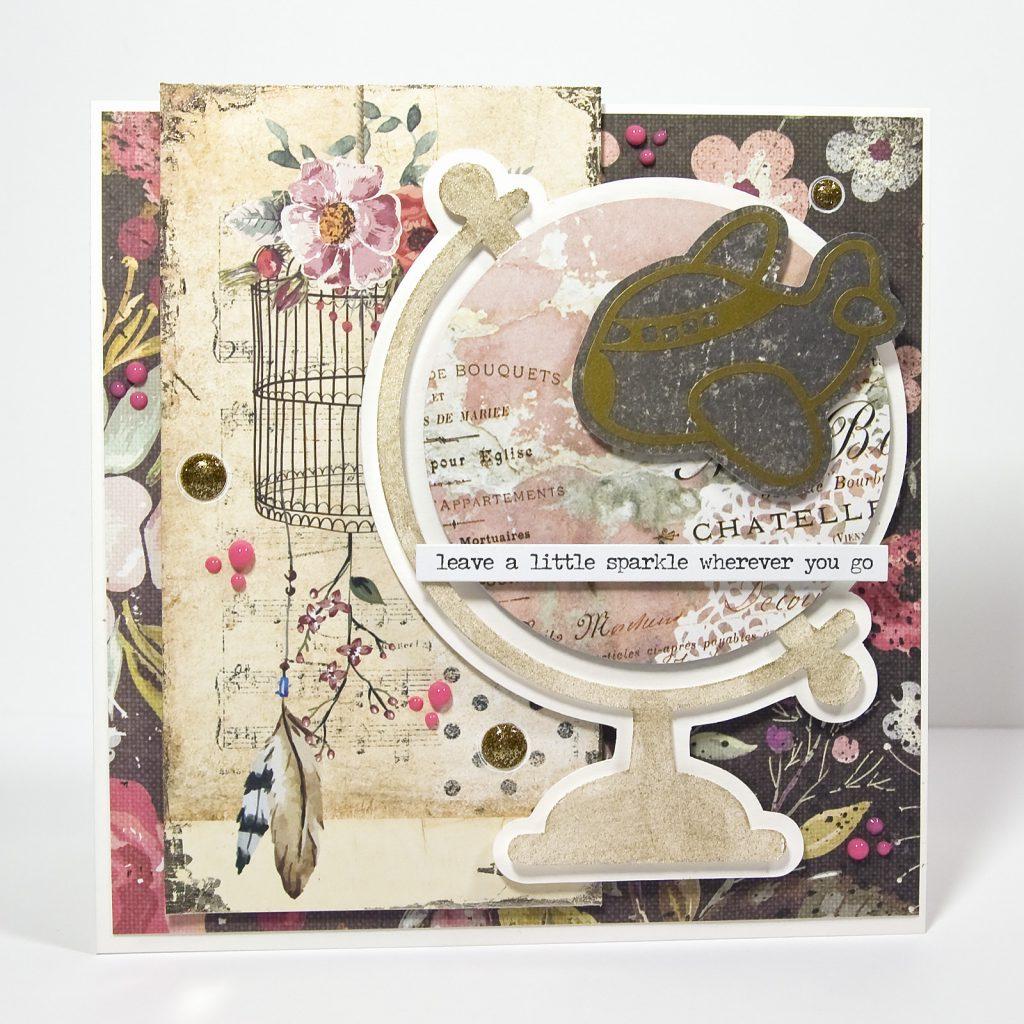 kartka dla podróznika - ploter Silhouette Cameo 3