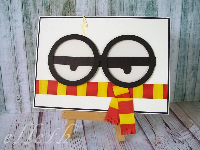 ploter Silhouette Cameo, kartka z okularami