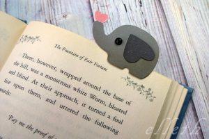 zakładka do książki diy ploter Silhouette