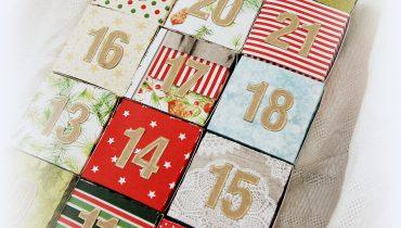 Kalendarz adwentowy – diy