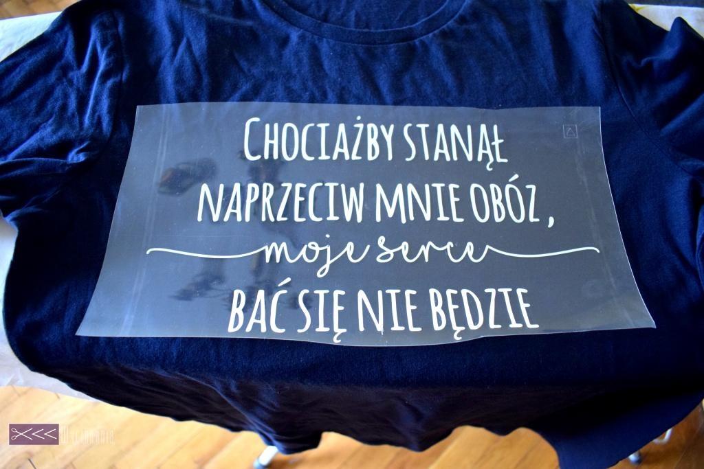folie flex - jak zrobić własną koszulkę