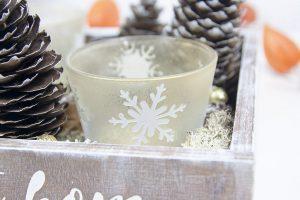 świąteczny stroik diy, ploter Silhouette