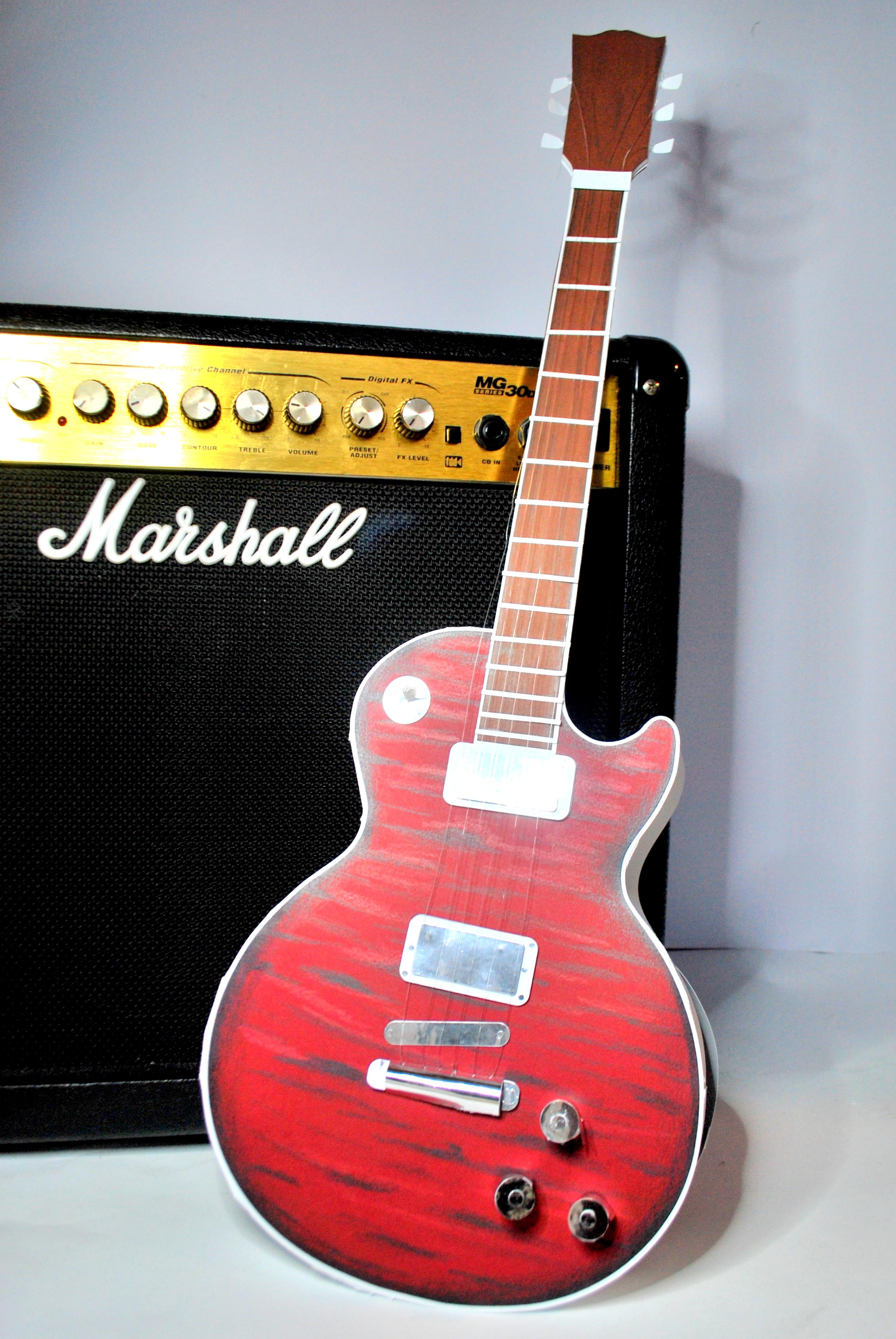Gitara – pudełko