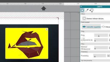 Obrys + opcja print and cut