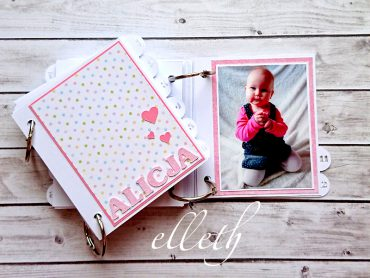 album scrapbooking ploter- wzór