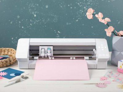Ploter Silhouette Cameo 4 i wiosenne kwiaty z papieru