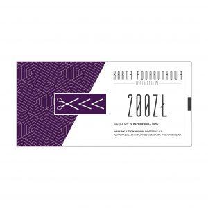 Karta podarunkowa 200zł