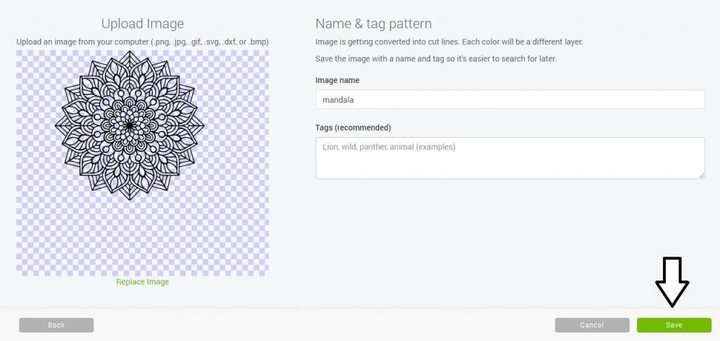Import plików do Cricut Design Space - SVG
