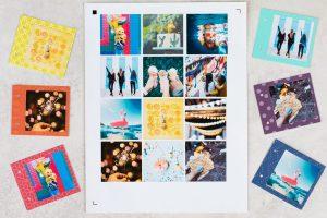 album scrapbooking drukowanie zdjęć